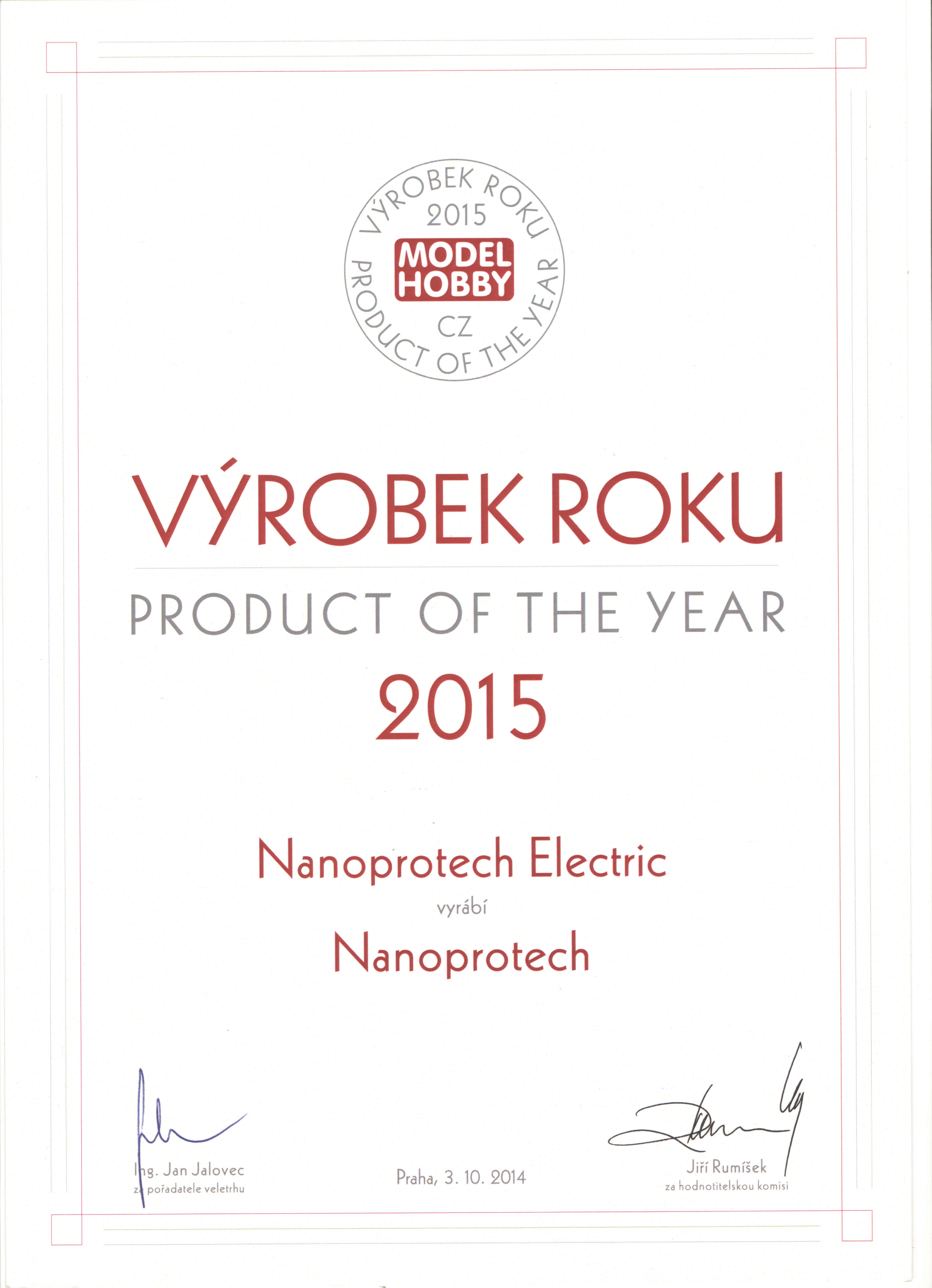5984624e0f1 Nanoprotech Electric vyrobek roku - Nanoprotech