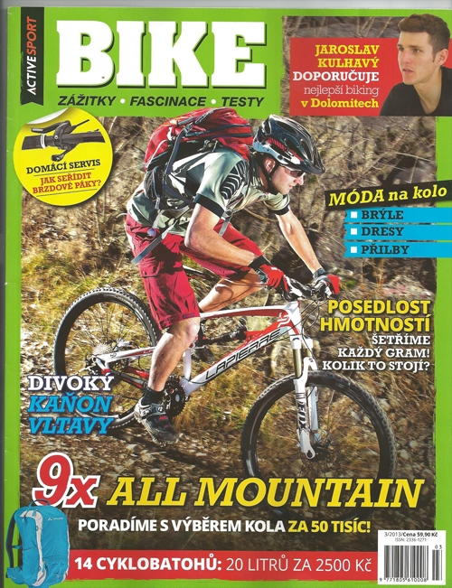 casopis_Bike_obalka