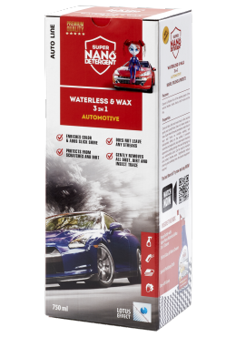 GNP Waterless & Wax 3v1 Automotive