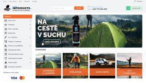 Ukázka nového e-shopu INPRODUCTS